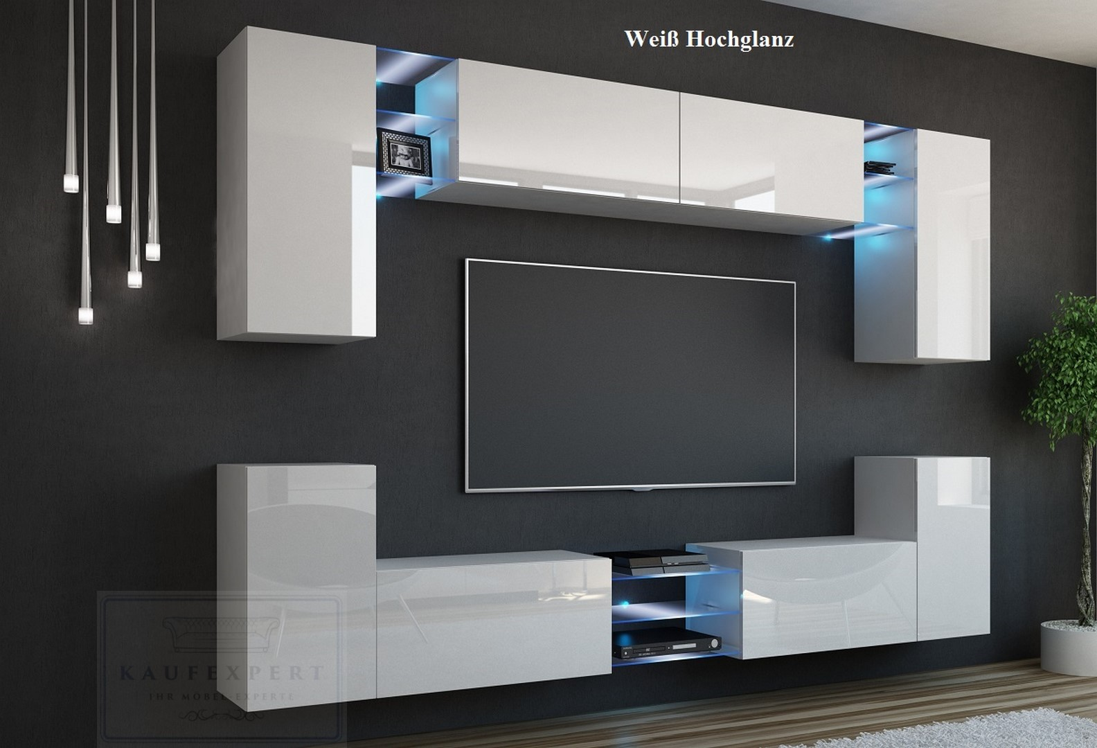 wohnwand schwarz hochglanz great related image of schwarz hochglanz wohnwand weis schwarz cool. Black Bedroom Furniture Sets. Home Design Ideas