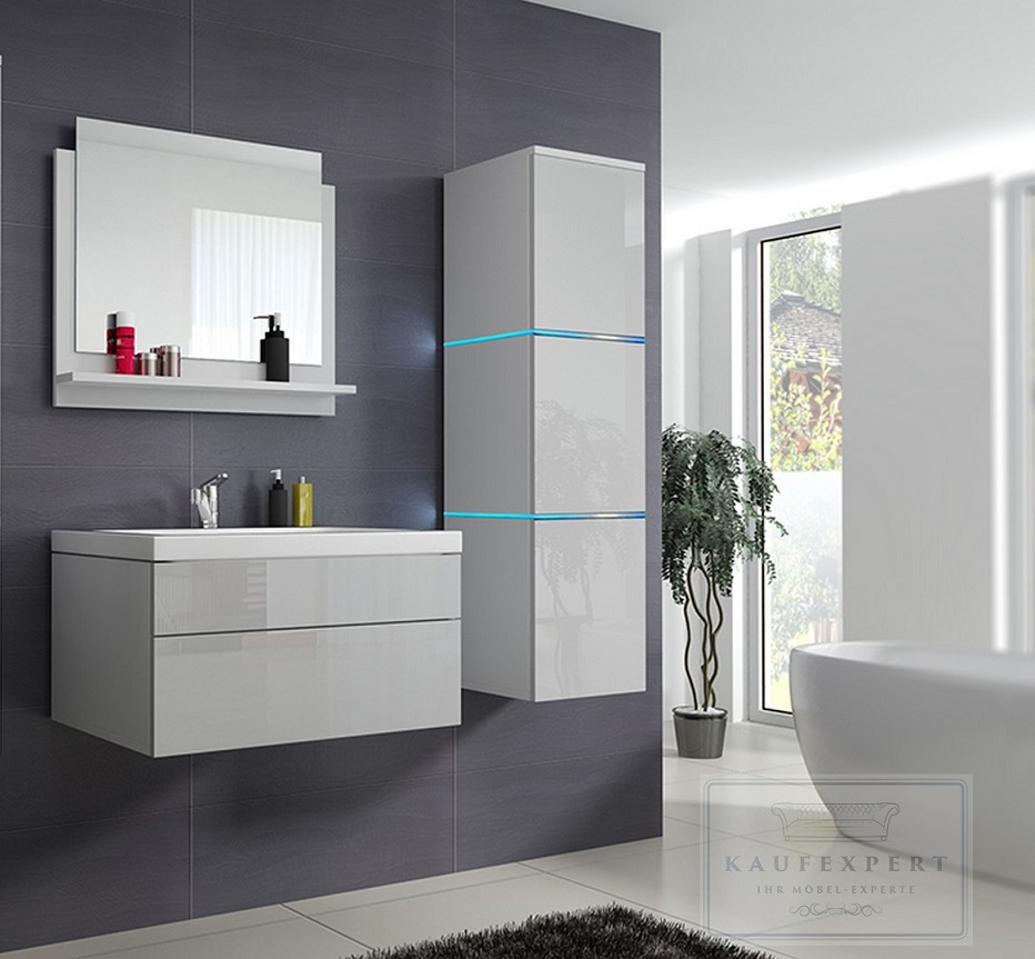 Awesome Badezimmermöbel Weiß Hochglanz Images - House Design Ideas ...