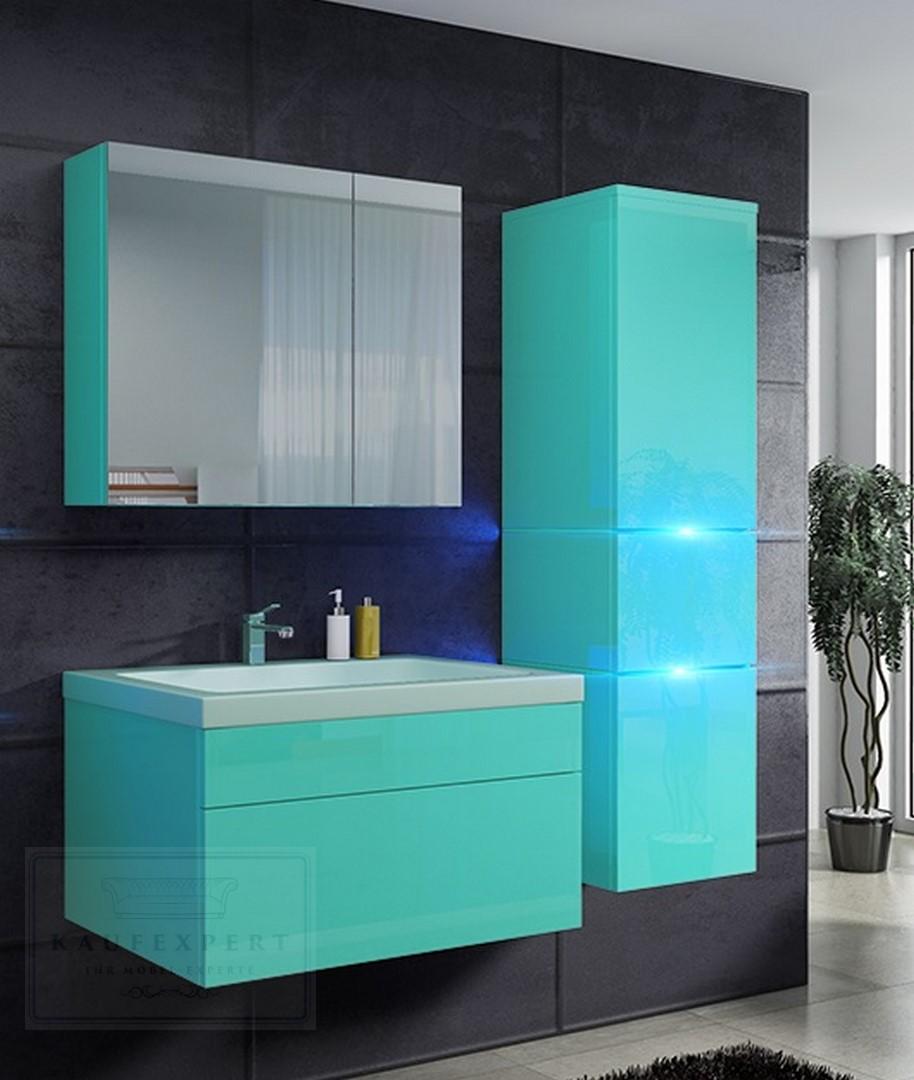 badm bel prestige 1 echt lackiert keramikbecken lichtgr n. Black Bedroom Furniture Sets. Home Design Ideas