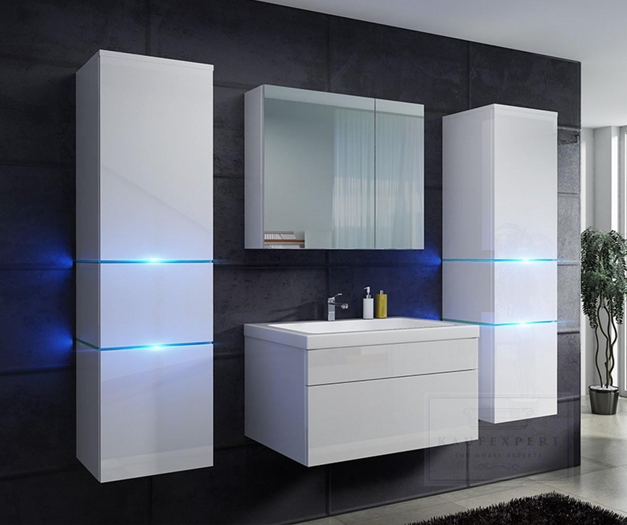 badm bel set prestige lackiert led beleuchtung keramik. Black Bedroom Furniture Sets. Home Design Ideas